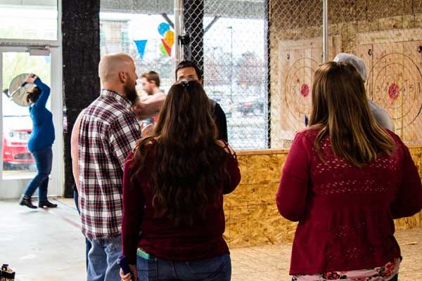 Have you ever heard of axe throwing in Utah?