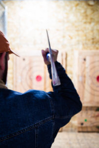 Axe throwing in Utah is the new hottest trend in fun group and corporate activities