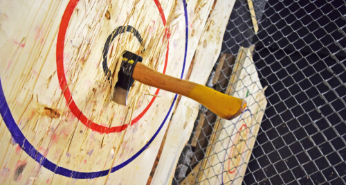 WHY AXE THROWING IS THE RAVE OF THE MOMENT