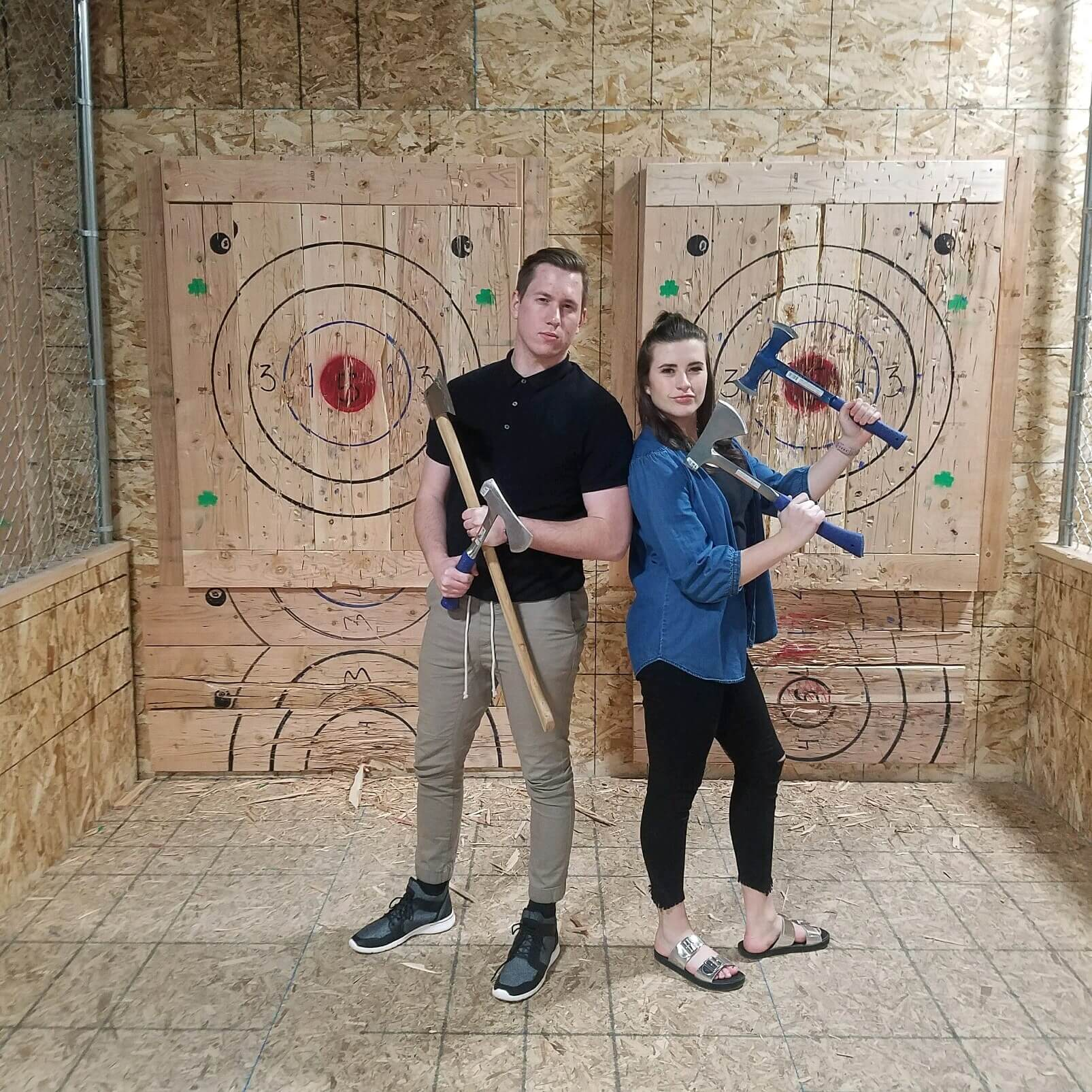 Why Axe Throwing is a Great Date Activity